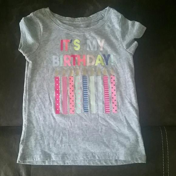 Cat Jack Size 2t Its My Birthday Shirt